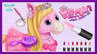 Download Fun Animal Horse Care - Pony Horse Care Hair Salon Dress Up - Pony Sisters Hair Salon 2 Video