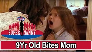 Download 9Yr Old Bites Mum For Taking Her Phone!   Supernanny Video