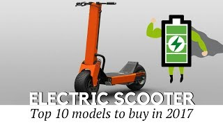 Download Top 10 Electric Scooters to Buy in 2017 (Prices and Specifications Reviewed) Video