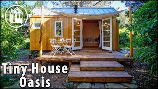 Download Lady Builds Affordable Tiny House to Live in Expensive California Video
