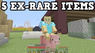 Download Minecraft Xbox - These 5 Items USED TO BE RARE Video