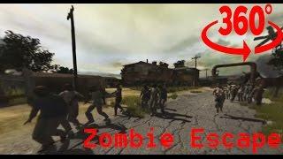 Download 360° Zombie Escape episode 1 #360video Video
