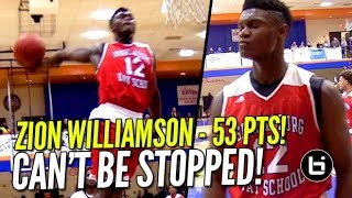 Download Zion Williamson 53 POINTS In Front of SOLD OUT CROWD at Chick-Fil-A Classic!! Video