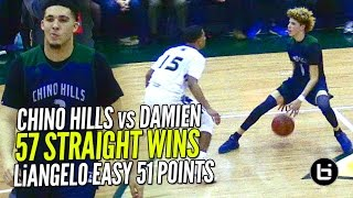 Download LiAngelo Ball 52 POINTS & LaMelo Ball Gets SHIFTY!! Chino Hills vs Damien Pt 2 FULL Highlights!! Video