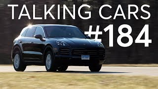 Download 2019 Porsche Cayenne Test Results; Worn Tire Wet Weather Performance | Talking Cars #184 Video