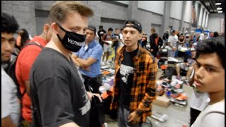 Download Guy Gets Busted Trading Fake Vlone At SneakerCon. Yeezy Busta Gets Involved Video