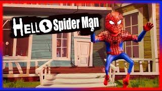 Download HELLO SPIDERMAN | Hello Neighbor Mod Video