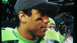 Download Russell Wilson Concussion Must See!!! He can't speak properly. Video