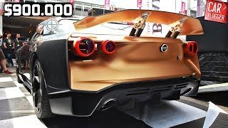 Download SNEAK PREVIEW the NEW Nissan GT-R50 by Italdesign 2019 Video