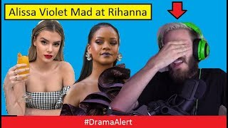 Download Alissa Violet MAD at Rihanna! #DramaAlert PewDiePie is a Bad Guy! Logan Paul Cancelled! FouseyTube Video