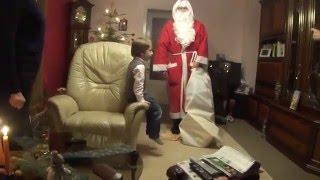Download der Weihnachtsmann bei Moritz Heiligabend 2011 Video