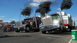 Download Драг рейсинг на грузовиках Trucks Drag Racing Video