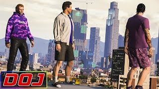 Download GTA 5 Roleplay - DOJ #77 - Parkour in the Hood Video
