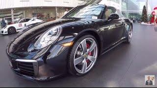 Download 2017 Jet Black Porsche 911 Targa 4S 420 hp @ Porsche West Broward Video