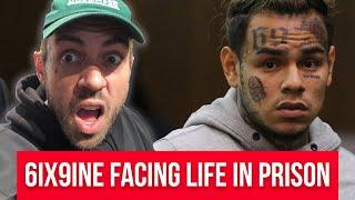 Download 6ix9ine facing LIFE in prison - Adam22 Reacts Video