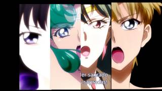 Download Sailor Moon - Outer Senshi group transformation Video