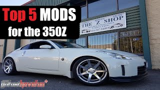 Download Top 5 MODs for the Nissan 350Z / Infiniti G35 Video