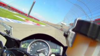 Download Fun motorcycle laps around Auto Club Speedway - CaliPhotography Video