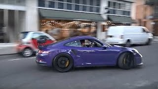 Download Porsche GT3 RS 'drive like you stole it'! Crazy drifts and burnouts in the city Video
