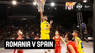 Download Romania v Spain - Full Game - FIBA 3x3 U18 Europe Cup 2018 Video