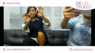 Download Italian TV host Caterina Balivo soles Video
