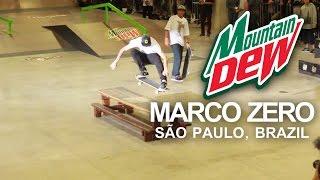 Download Luan Oliveira, Tiago Lemos e Equipe Mountain Dew Marco Zero - SKATE Video
