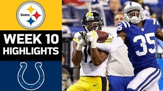 Download Steelers vs. Colts | NFL Week 10 Game Highlights Video