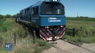 Download Argentina's railroad transformed by Chinese-made trains Video