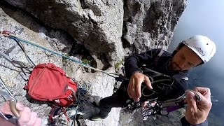 Download Tatry climbing - Lomnicky stit - ″Hokejka″ Video