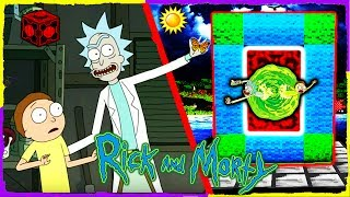 Download Minecraft Rick and Morty - How to Make a Portal to RICK & MORTY Video