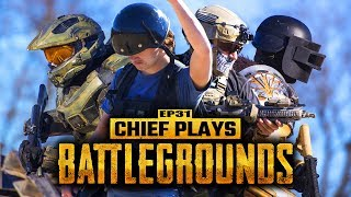 Download Chief Plays BATTLEGROUNDS (Live Action PUBG) | Living With Chief Ep.31 Video