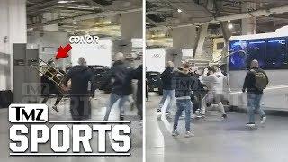 Download Insane Alternate Angle of Conor McGregor Bus Attack   TMZ Sports Video