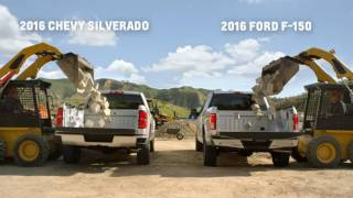 Download Chevy Silverado vs Ford F 150 Howie Long Compares Truck Beds Chevrolet Video