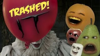 Download Annoying Orange - IT Trailer Trashed!! Video