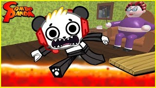 Download Roblox Escape Grandma's House CRAZY CATS Let's Play with Combo Panda Video