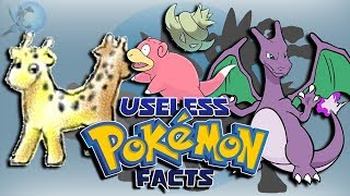 Download 20 Useless Pokémon Facts Video