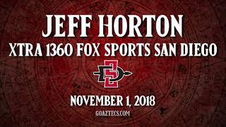 Download SDSU FOOTBALL: JEFF HORTON - XTRA 1360 FOX SPORTS SAN DIEGO Video