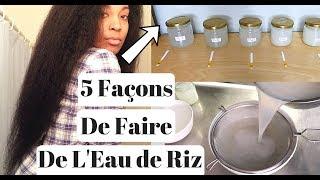 Download 5 Façons de Faire de L'Eau de Riz Pour La Pousse Des Cheveux | Zéro Gaspillage Video