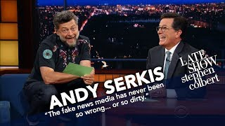 Download Andy Serkis Becomes Gollum To Read Trump's Tweets Video