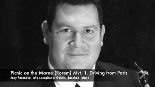 Download Picnic on the Marne (Ned Rorem) - Mvt. 1. Video