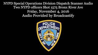 Download Scanner Audio Two NYPD officers one killed, Perp shot and killed Video