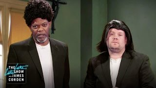 Download Samuel L. Jackson Acts Out His Film Career w/ James Corden Video