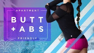 Download Butt Lift + Ab Chisel | Apartment Friendly Workout Video