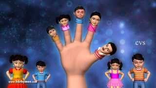 Download Father finger where are you - 3D Animation Finger family Nursery rhyme for children Video