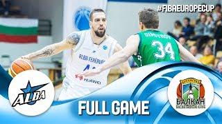 Download Alba Fehervar v Balkan BC - Full Game - FIBA Europe Cup 2018-19 Video