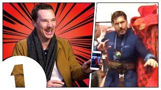 Download Benedict Cumberbatch reacts to Doctor Strange memes Video