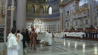 Download Messe célébrée par le Pape François à l'intention des Dominicains Video