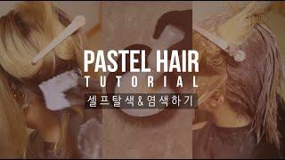 Download 집에서 저렴하게 탈색 & 염색하기 | SELF PASTEL HAIR TUTORIAL Video
