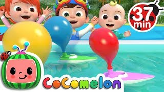 Download Balloon Boat Race | +More Nursery Rhymes & Kids Songs - ABCkidTV Video