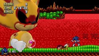Download Classic Sonic EXE Mania Plus Mod + Double Special Bosses Plus V3.0 Video